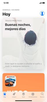 Apple iPhone X - Aplicaciones - Descargar aplicaciones - Paso 3
