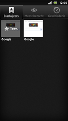 Sony ST25i Xperia U - Internet - Internetten - Stap 7