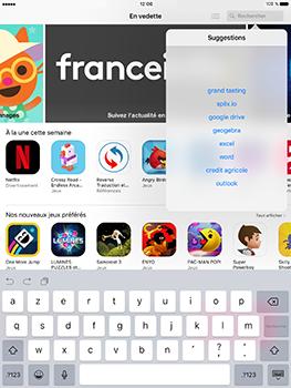 Apple iPad Pro 9.7 - iOS 10 - Applications - MyProximus - Étape 4