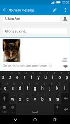 HTC Desire 820 - Contact, Appels, SMS/MMS - Envoyer un MMS - Étape 18