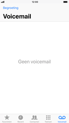 Apple iPhone 7 iOS 11 - Voicemail - Visual Voicemail - Stap 14