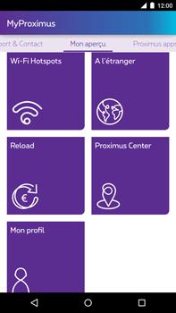 Motorola Nexus 6 - Applications - MyProximus - Étape 19