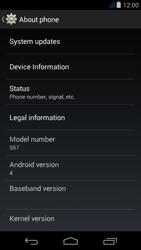 Acer Liquid Jade Z - Network - Installing software updates - Step 6