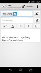 Sony D2203 Xperia E3 - E-mail - E-mails verzenden - Stap 8