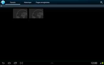 Samsung P5100 Galaxy Tab 2 10-1 - Internet - navigation sur Internet - Étape 10