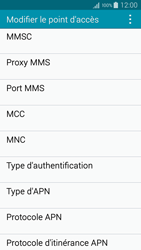Samsung A500FU Galaxy A5 - Internet - configuration manuelle - Étape 12