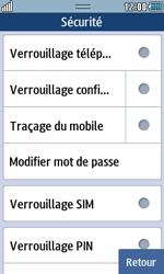 Samsung Wave 723 - Sécuriser votre mobile - Activer le code de verrouillage - Étape 5