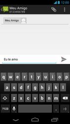 Motorola Moto X - Mensagens - Como criar e enviar torpedos (SMS) - Etapa 8