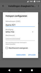 Sony Xperia XZ1 Compact (G8441) - WiFi - Mobiele hotspot instellen - Stap 8