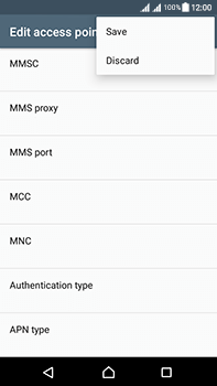 Sony Xperia L1 - Mms - Manual configuration - Step 16
