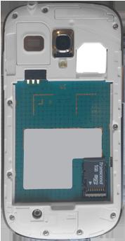 Samsung Galaxy S3 Mini - Primeros pasos - Quitar y colocar la batería - Paso 5