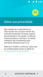 Motorola Moto E (2ª Geração) - Primeiros passos - Como ativar seu aparelho - Etapa 12