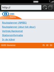 BlackBerry 9800 Torch - Internet - Hoe te internetten - Stap 11