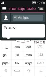 Nokia Asha 311 - Mensajería - Escribir y enviar un mensaje multimedia - Paso 10