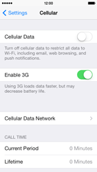 Apple iPhone 5c - Internet - Enable or disable - Step 5