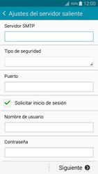 Samsung Galaxy A3 - E-mail - Configurar correo electrónico - Paso 12