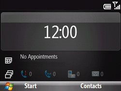 HTC S521 Snap - Voicemail - Manual configuration - Step 1