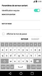 LG X Power - E-mail - Configuration manuelle - Étape 13