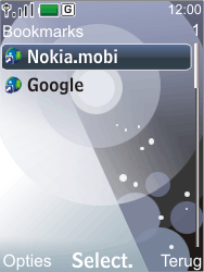 Nokia 7210 supernova - Internet - Hoe te internetten - Stap 8