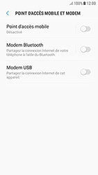 Samsung Galaxy J3 (2017) - Internet et connexion - Utiliser le mode modem par USB - Étape 8