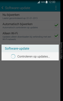 Samsung N915FY Galaxy Note Edge - Netwerk - Software updates installeren - Stap 9