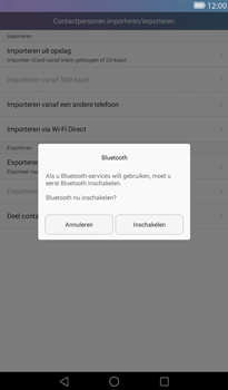Huawei MediaPad T1 (7.0) - Contactgegevens overzetten - delen via Bluetooth - Stap 10
