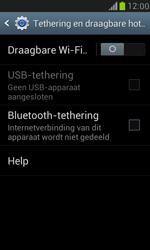 Samsung I8190 Galaxy S III Mini - WiFi - Mobiele hotspot instellen - Stap 6