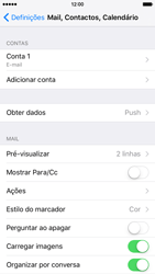 Apple iPhone 6 iOS 9 - Email - Configurar a conta de Email -  15