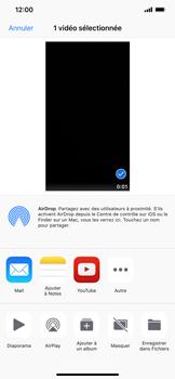 Apple iPhone XS Max - Photos, vidéos, musique - Créer une vidéo - Étape 13