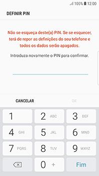 Samsung Galaxy S7 Edge - Android Oreo - Segurança - Como ativar o código de bloqueio do ecrã -  9