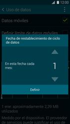 Samsung G900F Galaxy S5 - Internet - Ver uso de datos - Paso 7