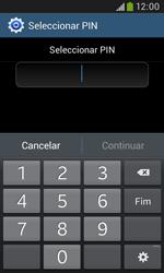 Samsung Galaxy Grand Neo - Segurança - Como ativar o código de bloqueio do ecrã -  8