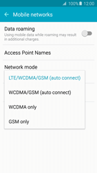 Samsung A510F Galaxy A5 (2016) - Network - Change networkmode - Step 7