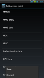 HTC Desire 516 - Internet - Manual configuration - Step 15