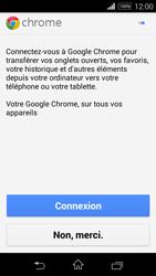 Sony Xpéria E3 - Internet et connexion - Naviguer sur internet - Étape 5