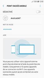 Samsung Galaxy J5 (2017) - Internet et connexion - Partager votre connexion en Wi-Fi - Étape 11