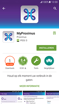 Samsung Galaxy J7 (2016) (J710) - Applicaties - MyProximus - Stap 9