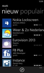 Nokia Lumia 720 - Applicaties - Downloaden - Stap 8