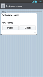 LG D505 Optimus F6 - MMS - Automatic configuration - Step 5