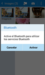 Samsung Galaxy Core Prime - Bluetooth - Transferir archivos a través de Bluetooth - Paso 10