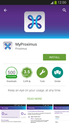 Samsung I9300 Galaxy S III - Applications - MyProximus - Step 8