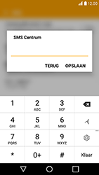 LG K10 (2017) (LG-M250n) - SMS - Handmatig instellen - Stap 8