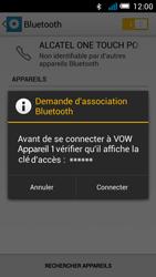 Alcatel OT-5036X Pop C5 - Bluetooth - Jumeler avec un appareil - Étape 7