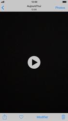 Apple iPhone 6 - iOS 11 - Photos, vidéos, musique - Créer une vidéo - Étape 10