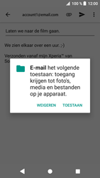 Sony xperia-xa1-g3121-android-oreo - E-mail - Bericht met attachment versturen - Stap 11