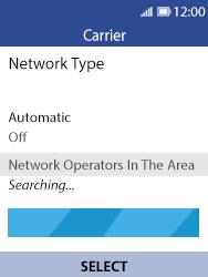 Nokia 8110 Banana - Network - Usage across the border - Step 8