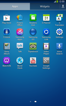 Samsung T315 Galaxy Tab 3 8-0 LTE - Applications - Downloading applications - Step 3