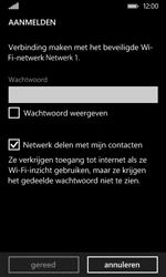 Nokia Lumia 530 - Wifi - handmatig instellen - Stap 7