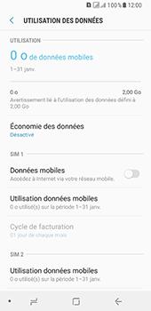 Samsung Galaxy A8 - Internet et connexion - Désactiver la connexion Internet - Étape 7