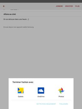 Samsung Galaxy Tab A - E-mails - Envoyer un e-mail - Étape 12